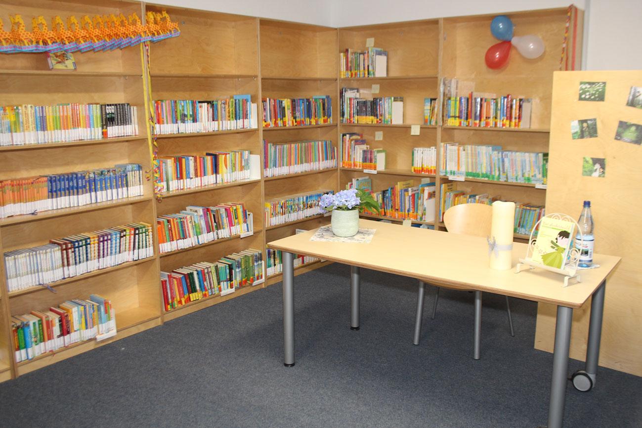 Bibliothek-leer