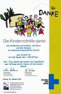 Urkunde_Kindernothilfe